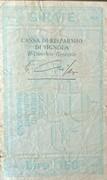 150 Lire -  la Banca Credito Agrario Bresciano – reverse