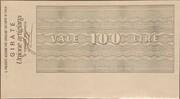100 Lire -  L'Istituto Bancario Italiano – reverse