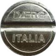 Car Wash Token - Daerg Italia – obverse