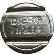 Car Wash Token - Daerg Italia – reverse