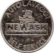 Car Wash Token - Autolavaggi Newash – obverse