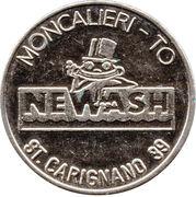 Car Wash Token - Autolavaggi Newash – reverse