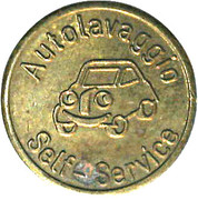 Car Wash Token - Autolavaggio Self-Service – obverse