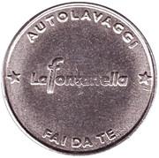 Car Wash Token - Autolavaggi La Fontanella – reverse