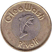 Car Wash Token - CleoWash (Rivoli; 11 stars) – obverse