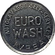 Car Wash Token - Euro Wash (Ivrea, Turin) – obverse