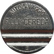Car Wash Token - Autolavaggio F.Lli Cereda (Carnate) – obverse