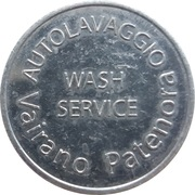 Car Wash Token - Autolavaggio (Vairano Patenora) – obverse