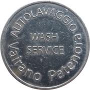 Car Wash Token - Autolavaggio (Vairano Patenora) – reverse