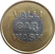 Car Wash Token - Vall Car Wash – obverse