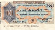 100 Lire (Istituto Bancario Italiano) – obverse