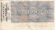 100 Lire (Istituto Bancario Italiano) – reverse