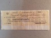 150 Lire (Cassa di Risparmio di Venezia) – obverse