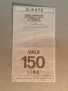 150 Lire (Credito Varesino) – reverse