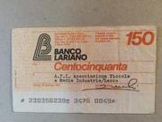150 Lire (Banco Lariano) – obverse