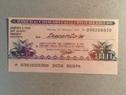 300 Lire (Banco di Chiavari) – obverse