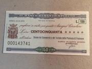 150 Lire (Banco di Santo Spirito) – obverse