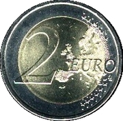 2 Euro (Count of Cavour) -  reverse