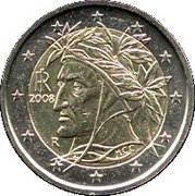 2 Euro (2nd map) -  obverse
