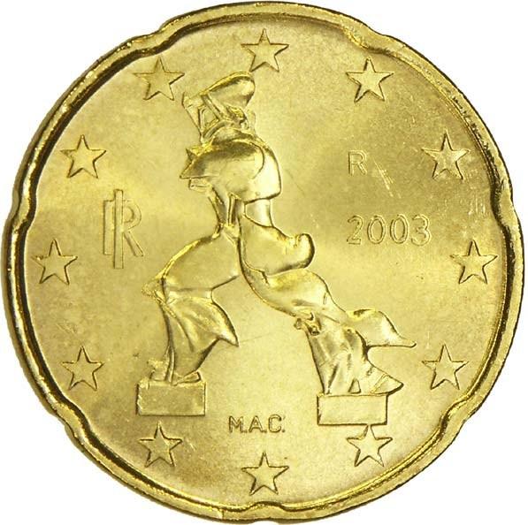 20 Euro Cent (1st map) - Italy – Numista