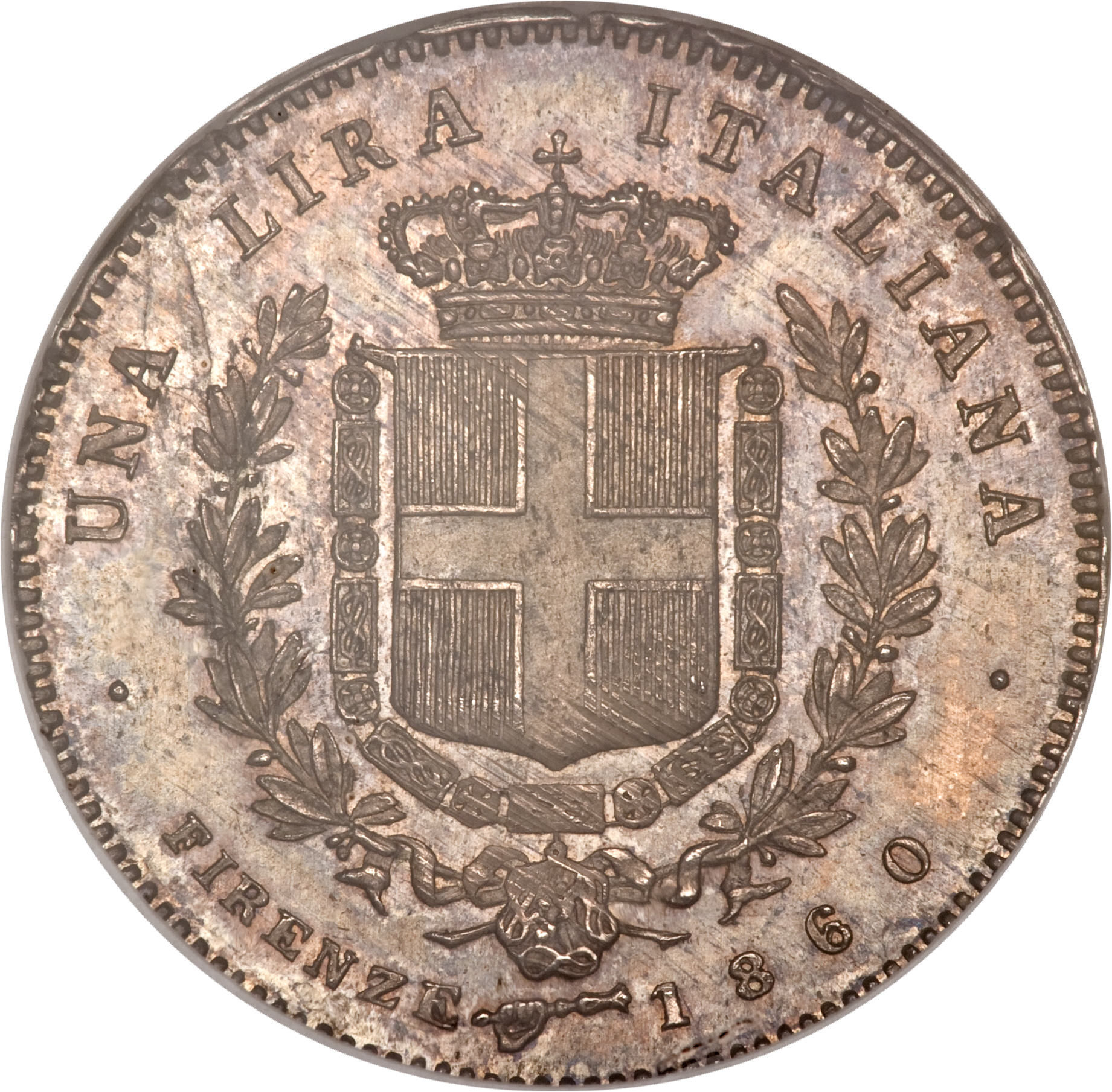 Lira - Vittorio Emanuele II - Italian states – Numista
