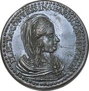 Medal - Electa Contessina di Bardi – obverse