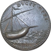 Medal - Electa Contessina di Bardi – reverse