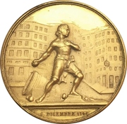 Medal - Giovan Battista Perasso 100 years of Liberation from Austria – obverse