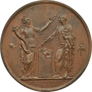 Medal - Coronation of Napoleon Bonaparte as king of Italy – reverse