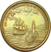 Medal - Karl VI. Conquest Of Sicily – reverse