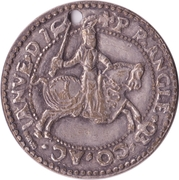 Replica - Carolus guilder – reverse