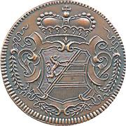 1 Soldo  - Gorizia 1733 (Restrike) – reverse
