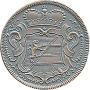 2 Soldi  - Gorizia 1734 (Restrike) – reverse