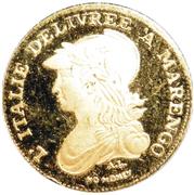 20 Francs - Piedmont (Mini Replica) – obverse