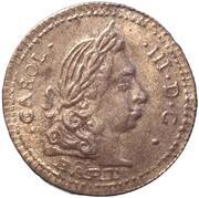 Replica - Kingdom of Sicily 1 Tarí (Carlo III) – obverse