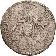 1 Guldenthaler/ 60 Kreuzer - Georg Friedrich -  reverse