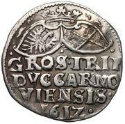 3 Groshen - Johann Georg – reverse