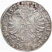 1 Guldenthaler/ 60 Kreuzer - Georg Friedrich – reverse