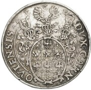 1 Thaler - Johann Georg – reverse