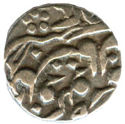 ¼ Rupee - Victoria [Madho Singh II] – obverse