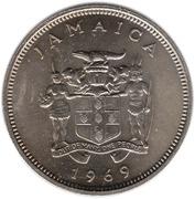20 Cents - Elizabeth II (wide legend letters) – obverse