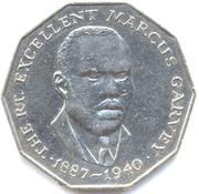 50 Cents - Elizabeth II (wide legend letters) – reverse
