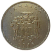 25 Cents - Elizabeth II (Bank of Jamaica) – obverse