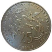 25 Cents - Elizabeth II (Bank of Jamaica) – reverse