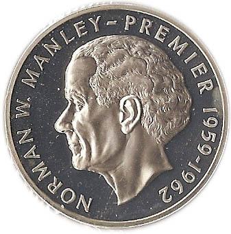 5 Dollars Elizabeth Ii Silver Proof Issue