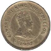 1 Farthing - Edward VII – obverse