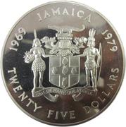 25 Dollars - Elizabeth II (Investiture of Prince Charles) – obverse