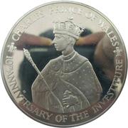 25 Dollars - Elizabeth II (Investiture of Prince Charles) – reverse