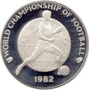 25 Dollars - Elizabeth II (World Championship of Football 1982) – reverse