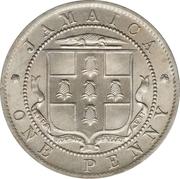 1 Penny - George V – obverse